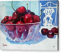 Have A Bing Cherry Go Ahead Try Em Acrylic Print