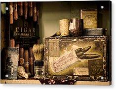 Have A Cigar Acrylic Print by Heather Applegate