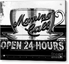 Have A Cup Of Coffee At Morning Call New Orleans Acrylic Print