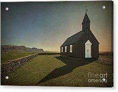 Have A Little Faith Acrylic Print by Evelina Kremsdorf