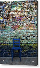 Have A Seat 2 Acrylic Print by Kelly Kitchens