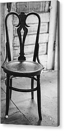 Have A Seat With History Acrylic Print by Thomas Young