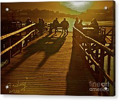 Have You Ever Been To Heaven . Acrylic Print by  Andrzej Goszcz