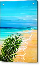 Haven Of Bliss Acrylic Print by Lourry Legarde