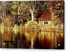 Haverford College Lake Acrylic Print