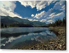 Haviland Lake Acrylic Print