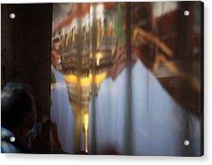 Haw Phra Phuttabhat Chamber - Wat Phra That Lampang Luang - Lampang Thailand - 01131 Acrylic Print by DC Photographer