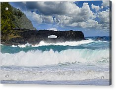 Hawaii Coastline Acrylic Print