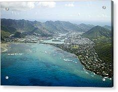 Hawaii Kai Aerial Acrylic Print