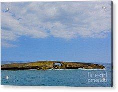 Hawaii Rocks Acrylic Print by Nur Roy