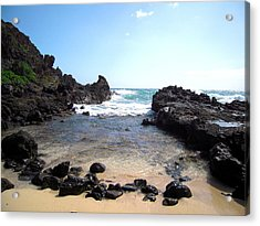 Hawaiian Beach Acrylic Print