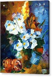 Hawaiian Bouquet Acrylic Print by Ash Hussein
