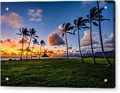 Chainaman Hat Hawaii Acrylic Print