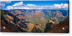 Hawaiian Grand Canyon Acrylic Print