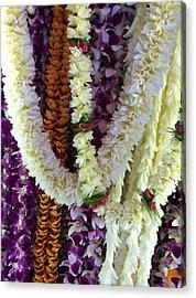 Hawaiian Leis Acrylic Print