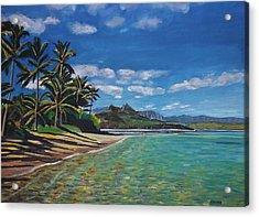 Hawaiian Paradise Acrylic Print by Richard Nowak