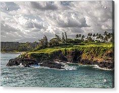 Hawaiian Shores Acrylic Print by Bill Lindsay