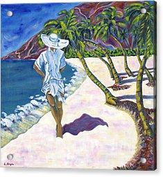 Hawaiian Stroll Acrylic Print