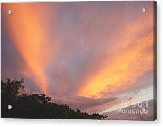 Hawaiian Sunrise Acrylic Print by Mukta Gupta