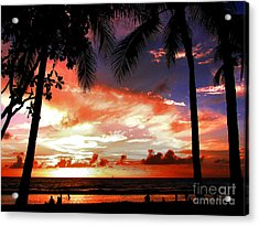Hawaiian Sunset Acrylic Print