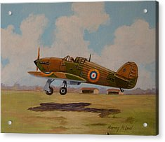 Hawker Hurricane Acrylic Print