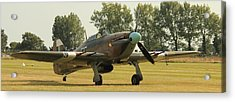 Hawker Hurricane Taxing Acrylic Print