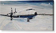 Hawker - Waiting Out The Storm Acrylic Print