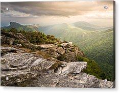 Hawksbill Mountain Sunset Acrylic Print