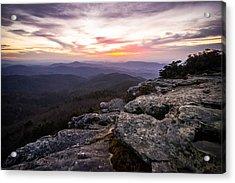 Hawksbill Sunrise Acrylic Print
