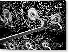 Hay Rake Acrylic Print