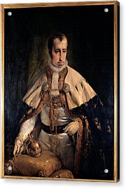 Hayez Francesco, Portrait Of Emperor Acrylic Print by Everett