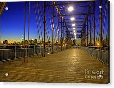 Hays Street Bridge Acrylic Print