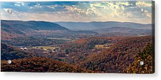 Haystack Mountain Tower View Acrylic Print