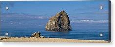 Haystack Rock - Pacific City Oregon Coast Acrylic Print by Brian Harig