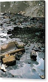 Hazardous Waste Lagoon Acrylic Print