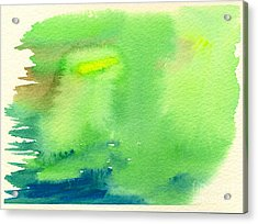 Hazy Forest IIi Acrylic Print by Beverly Claire Kaiya