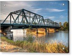 Hdr - Lincoln Ave. Bridge Acrylic Print
