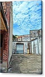 Hdr Alley Acrylic Print