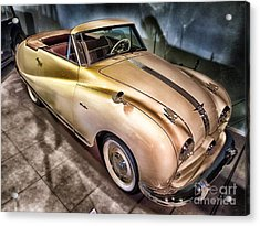 Acrylic Print featuring the photograph Hdr Classic Car by Paul Fearn