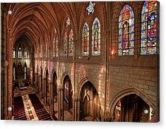 Hdr Image Of The Basilica Interior Acrylic Print