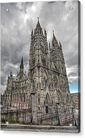 Hdr Image Of The Exterior Acrylic Print