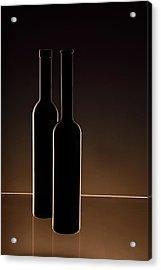 ...he And She... Acrylic Print by Daniela Bartosova