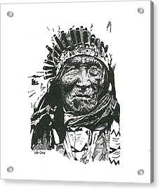 He Dog Acrylic Print