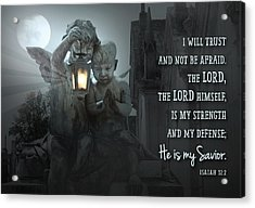He Is My Savior Acrylic Print