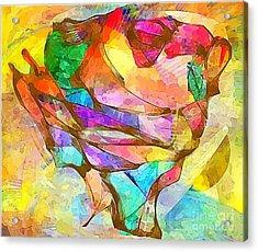Head  0371 Marucii Acrylic Print