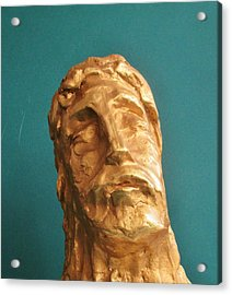 Head Of Christ 2014 Acrylic Print