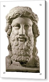 Head Of Hermes. 4th C. Bc. Classical Acrylic Print by Everett