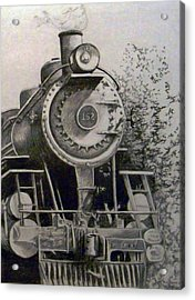 Head Of Steam Acrylic Print by Rick Moore