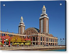 Headhouse Chicago Navy Pier Acrylic Print by Christine Till