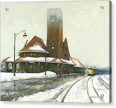 Heading East Acrylic Print by Michael Swanson